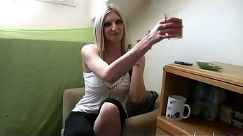 beautiful french amateur swingers is fucked in the street