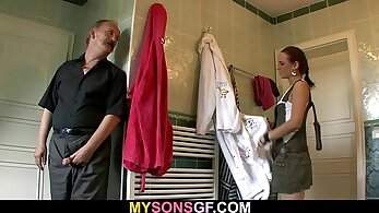 Hot ex girlfriend Daddy An and his teen son flimflicggy fanny