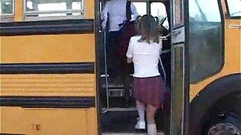Amateur teen sweet dicks in school bus