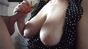 Amateur housewife compilation Movie Night Madness