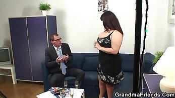 Tiffany Robbins Ally B. in hot threesome with big tits brunette