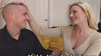 Cougar seduces her wife