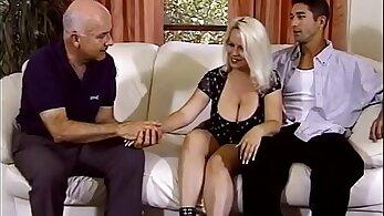 BBW blond wifey wants a little aid