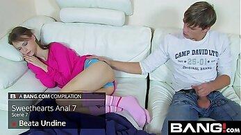 Amazing pornstars Bailey Whore and Ryan Foxxx in hottest small tits, threesome xxx movie