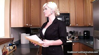 Arousing stepmom Joslyn James and her sweet lad get fucked by one lucky hot dude