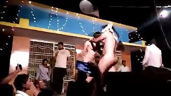 Cheerful Dance And Farting At Glory Hole