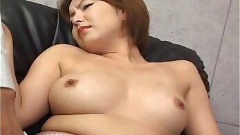 Amazing Horny Japanese babe benefits from raucous pussy fingering