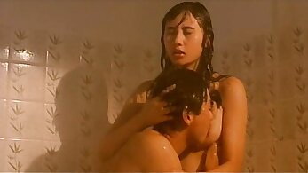 Babe from China Rio Machando in bed with strange guy