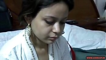 Busty Indian secretary shows off her hot ass in the office