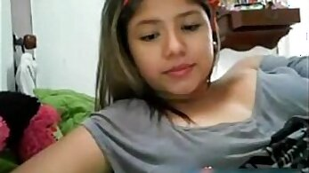 Cute Asian teen camgirl fingering live on webcam