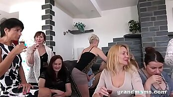 Crazy granny with braces fucking and getting fucked
