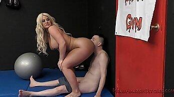 lot of huge dicks and sensual facesitting