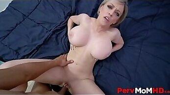 Blonde big tit milf orgy Step Moms New Fuck Toy